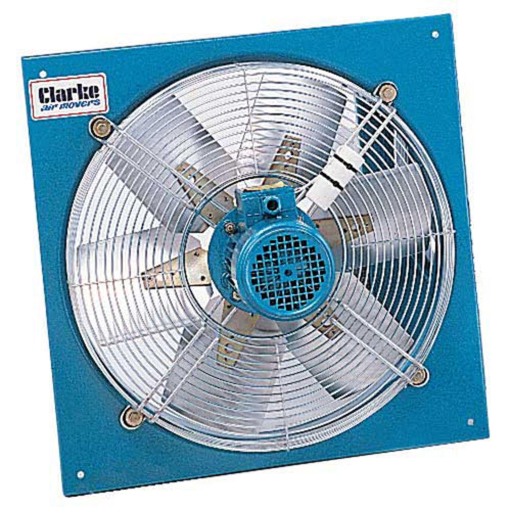 """clarke caf606 600mm (24"""") heady duty axial plate fan - machine"""