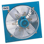 "Clarke CAF606 600mm (24"") Heady Duty Axial Plate Fan"