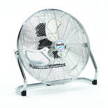"Clarke CFF18C 18"" High Velocity Chrome Floor Fan"