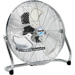 "Clarke CFF18C100 18"" High Velocity Chrome Floor Fan"