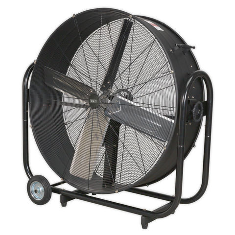 Image of Sealey Sealey HVD42B 42'' Industrial High Velocity Drum Fan (230V)