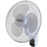 "Draper FAN7B 16"" Wall Mounted Remote Control Fan (230V)"