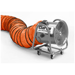"Clarke 20"" Flexible PVC Duct for CAM400 Ventilation Fan - Orange"