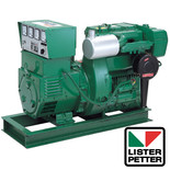 Clarke Heavy Duty Diesel Powered Lister Generator 3-phase - TX3/ES3