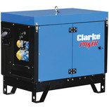 Clarke KC6 6.5kVA Dual Voltage Canopied Generator