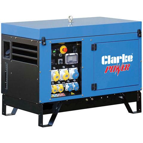 Image of Clarke Clarke KC10 11KVA Dual Voltage Canopied Generator