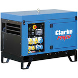 Clarke KC10 11KVA Dual Voltage Canopied Generator