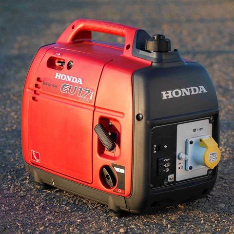 Image of Honda Honda EU17i 1.7kW Petrol Driven Inverter Generator (110V)