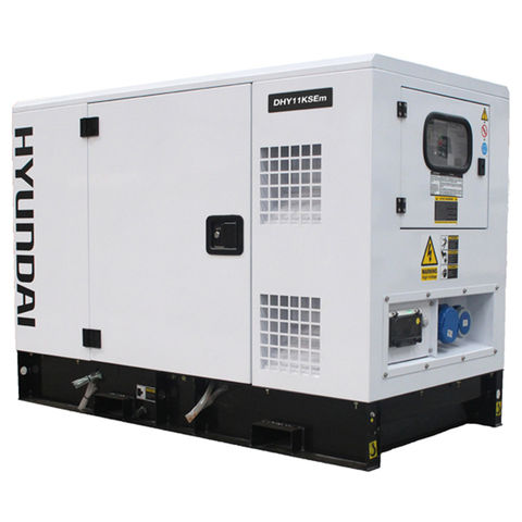 Image of Hyundai Hyundai DHY11KSEm 14kVA Diesel Generator 230V