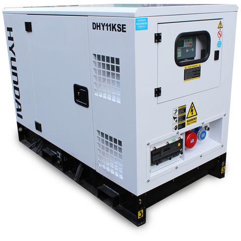 Image of Hyundai Hyundai DHY11KSE 11kVA 3 Phase Diesel Generator 230V & 400V