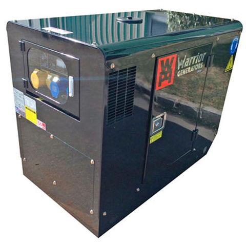 Image of Warrior Warrior LDG12S 11kW Silent Diesel Canopy Generator