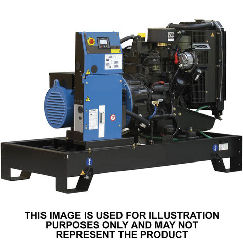 John Deere John Deere JD30ESO 30kVA Water Cooled Generator (Open)