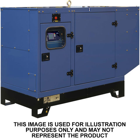 John Deere John Deere JD40ESC 40kVA Water Cooled Generator (Canopied)