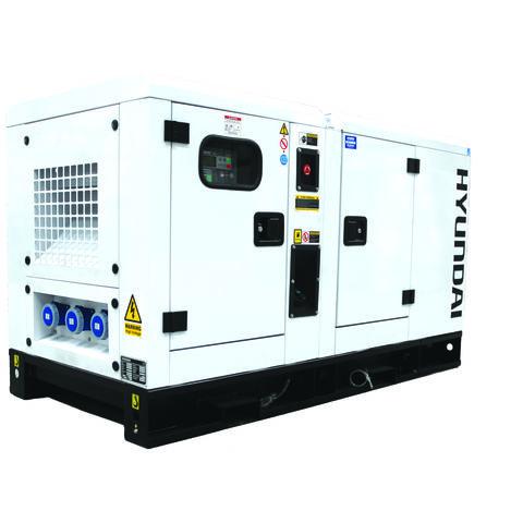 Image of Hyundai Hyundai DHY22KSEm 27.5 kVA Diesel Generator 230V