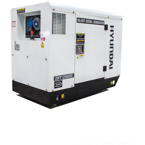 Image of Hyundai Hyundai DHY12500SE 12.5kVA Diesel Standby Generator 230V