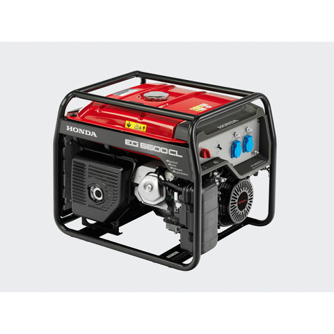 Image of Honda Honda EG5500 AVR 5.5kW Petrol Powered Generator (110/230V)