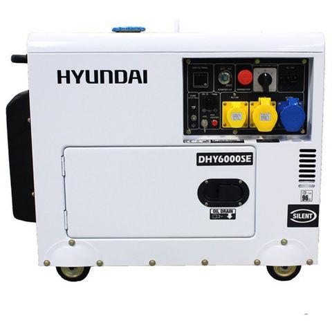 Image of Hyundai Hyundai DHY6000SE 6.5kVA Diesel Generator