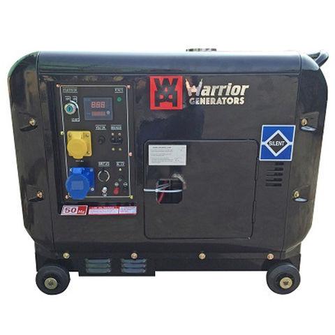 Image of Warrior Warrior LDG6000S 5kW Silent Diesel Generator