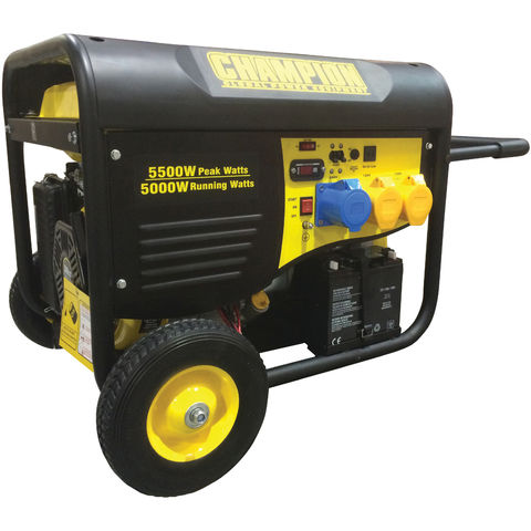 Image of Champion Champion 5kW Petrol Generator With Remote Start (110/230V)