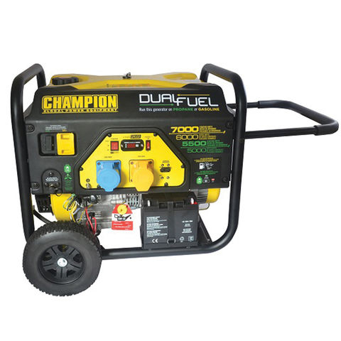 Image of Champion Champion CPG7500E2-DF Dual Fuel Generator