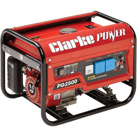 Image of Clarke Clarke PG2500 2.2kVA Petrol Generator