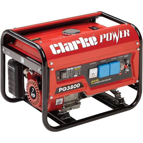Image of Clarke Clarke PG3800 3kVA Petrol Generator