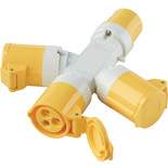 Clarke GAP1 110V 16A 3-Way Generator Adaptor Plug