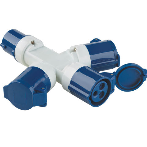 Image of Clarke Clarke GAP2 3-Way Generator Adaptor Plug