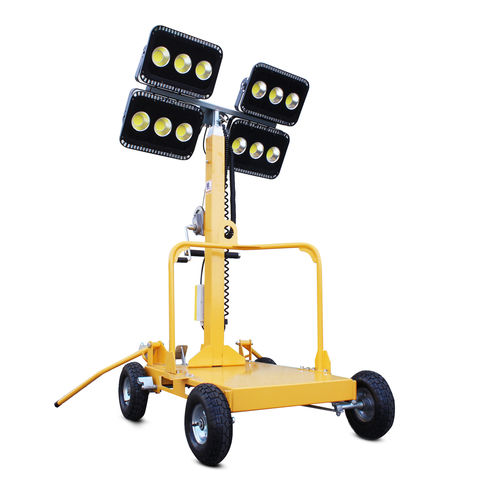 Image of Hyundai Evopower LT600-LED-I 600W LED Mobile Lighting Tower
