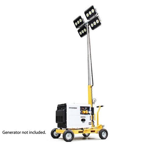 Image of Hyundai Evopower LT600-LED-D 600W LED Mobile Lighting Tower