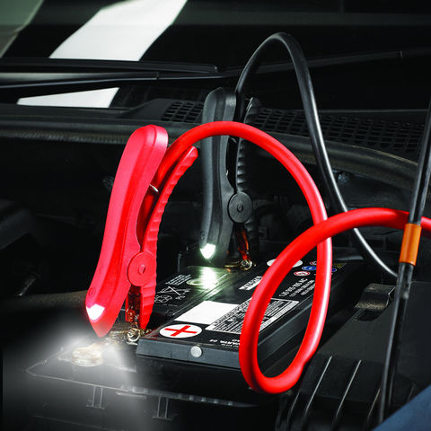 Image of Clarke Clarke CJL25LED Booster Cable With LED Clamp
