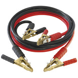 Professional 500Amp Jump Leads with Brass Clamps
