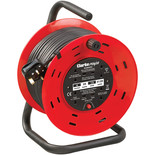 Clarke CCR25 4 Socket 25m  Cable Reel With Thermal Cut Out (230V)