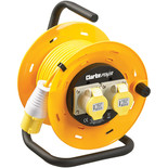 Clarke CCR2516A 2 Socket 25m Cable Reel (110V)