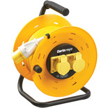 Clarke CCR5016A 2 Socket 50m 110V Cable Reel