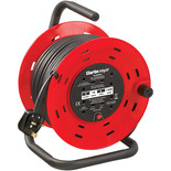 Clarke CCR26 230V 4 Socket 25m 2.52mm Cable Reel With Thermal Cut Out