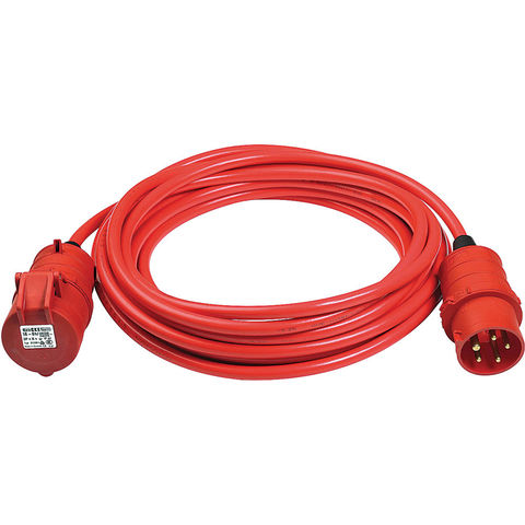 Image of 400Volt 3 Phase Brennenstuhl Cable 10 Metre CE400V 16Amp 5 Pin (3 Phase)
