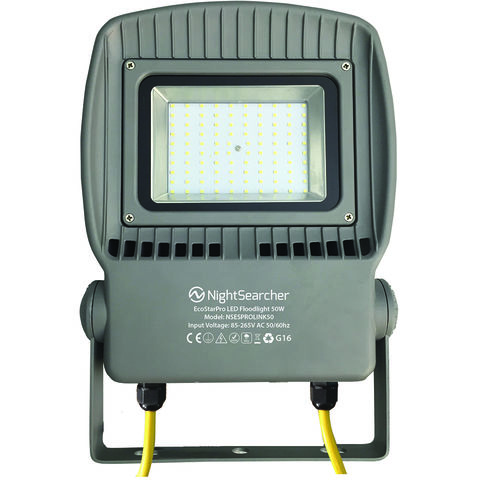 Image of Nightsearcher Nightsearcher Ecostar Pro Link 50W AC Dual Voltage LED Floodlight (110/230V)