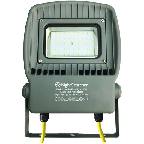Image of Nightsearcher Nightsearcher Ecostar Pro Link 100W AC Dual Voltage LED Floodlight (110/230V)