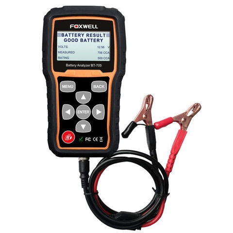 Image of Foxwell Foxwell BT705 12/24 Volt Battery Analyser