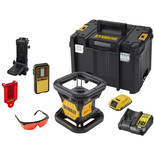 DeWalt DCE074D1R-GB  Self-Levelling Rotary Laser Level - Red