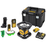 DeWalt DCE079D1G-GB Self-Levelling Rotary Laser Level - Green