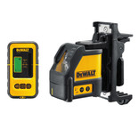 DeWalt DW088KD - 2 Way Self Levelling Cross Line Laser & DE0892 Detector