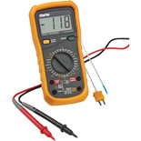 Clarke CDM45C 11 Function Digital Multimeter with Temperature Probe