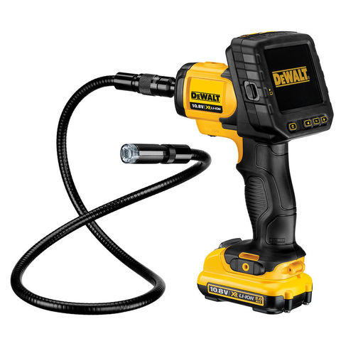 Image of DeWalt DeWalt DCT410D1 Inspection Camera With 17mm Cable (10.8V) & Battery