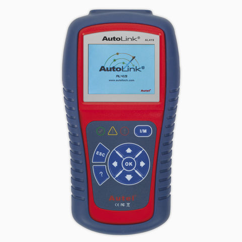 Image of Sealey Autel AL419 EOBD Code Reader - Live Data, Tech Tips
