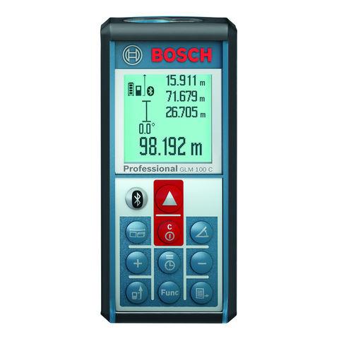 Image of Machine Mart Xtra Bosch GLM100C Professional Laser Measure