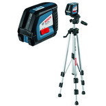 Bosch GLL 2-50 Professional Line Laser & BS 150 Building Tripod