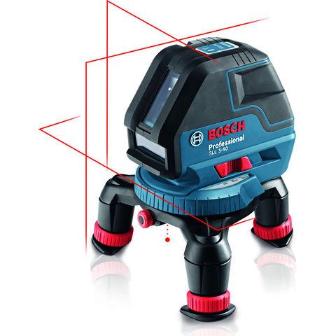 Photo of Bosch bosch gll 3-50 professional line laser & rotating mini tripod