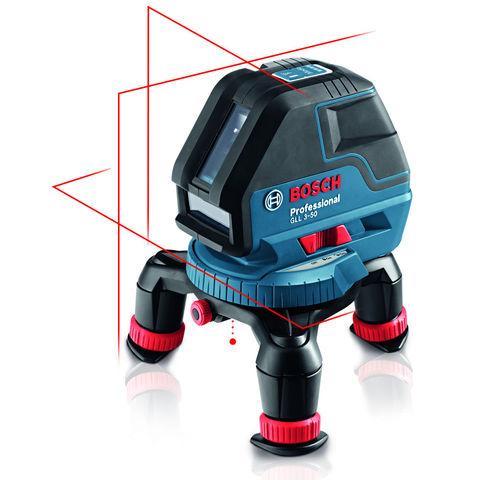 Photo of Bosch bosch gll 3-50 professional line laser- rotating mini tripod- bm1 wall mount & l-boxx